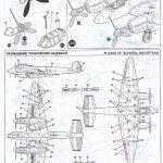 Zvezda-7283-Pe-2-Bauanleitung8-150x150 Petljakow Pe-2 in 1:72 von Zvezda #7283