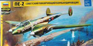 Petljakow Pe-2 in 1:72 von Zvezda #7283
