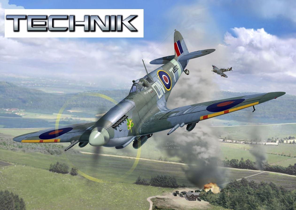 00457-Supermarine-Spitfire-Mk.IXc_TECHNIK Revell-Neuheiten 2020