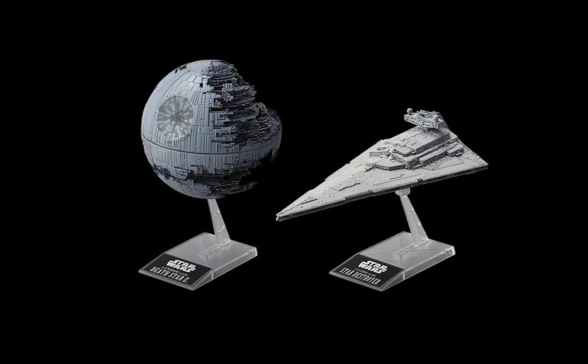 01207-BANDAI-Death-Star-II-Imperial-Star-Destroyer Revell-Neuheiten 2020