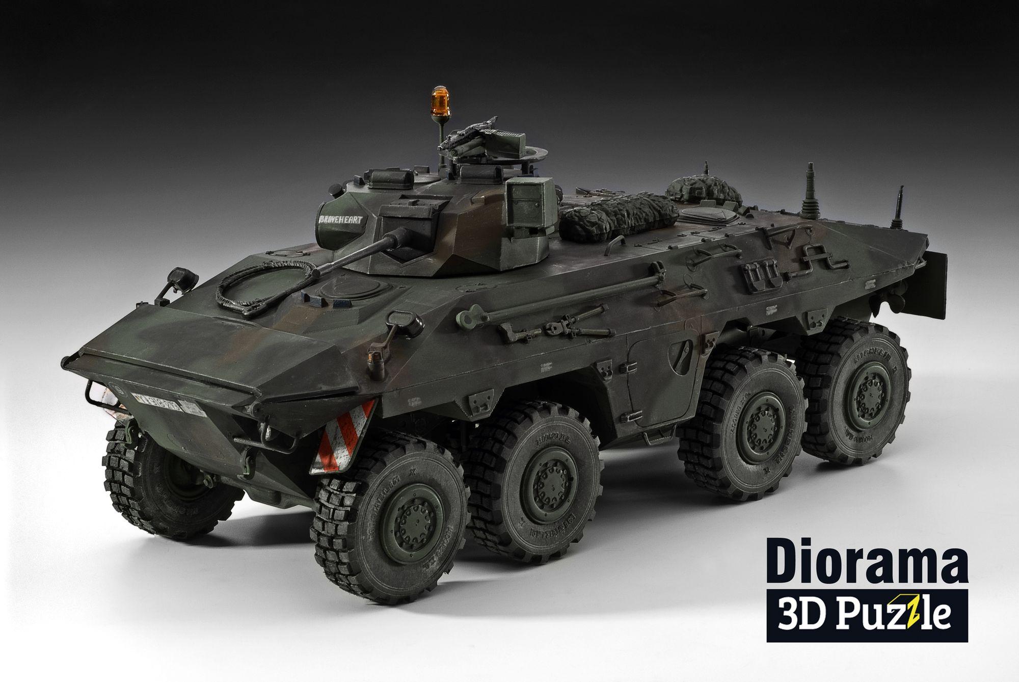 03321-SpPz-2-Luchs-Diorama Revell-Neuheiten 2020
