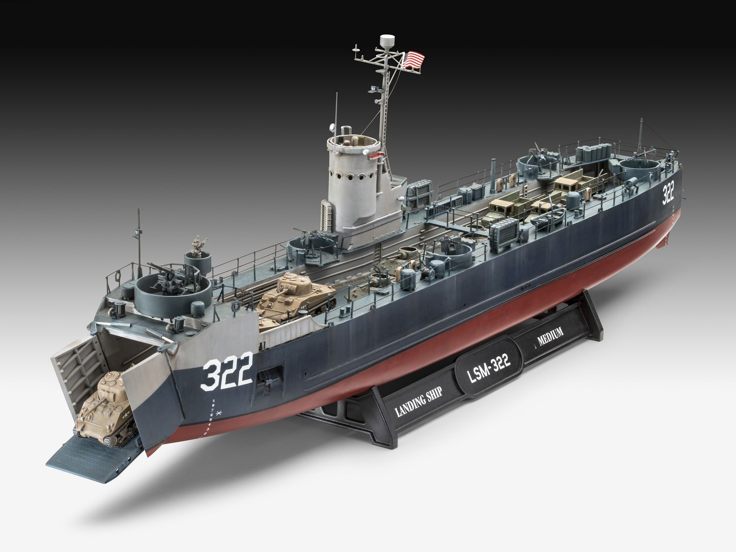 05169-US-Navy-Landing-ship-Medium-Bofors-40mm-gun Revell-Neuheiten 2020