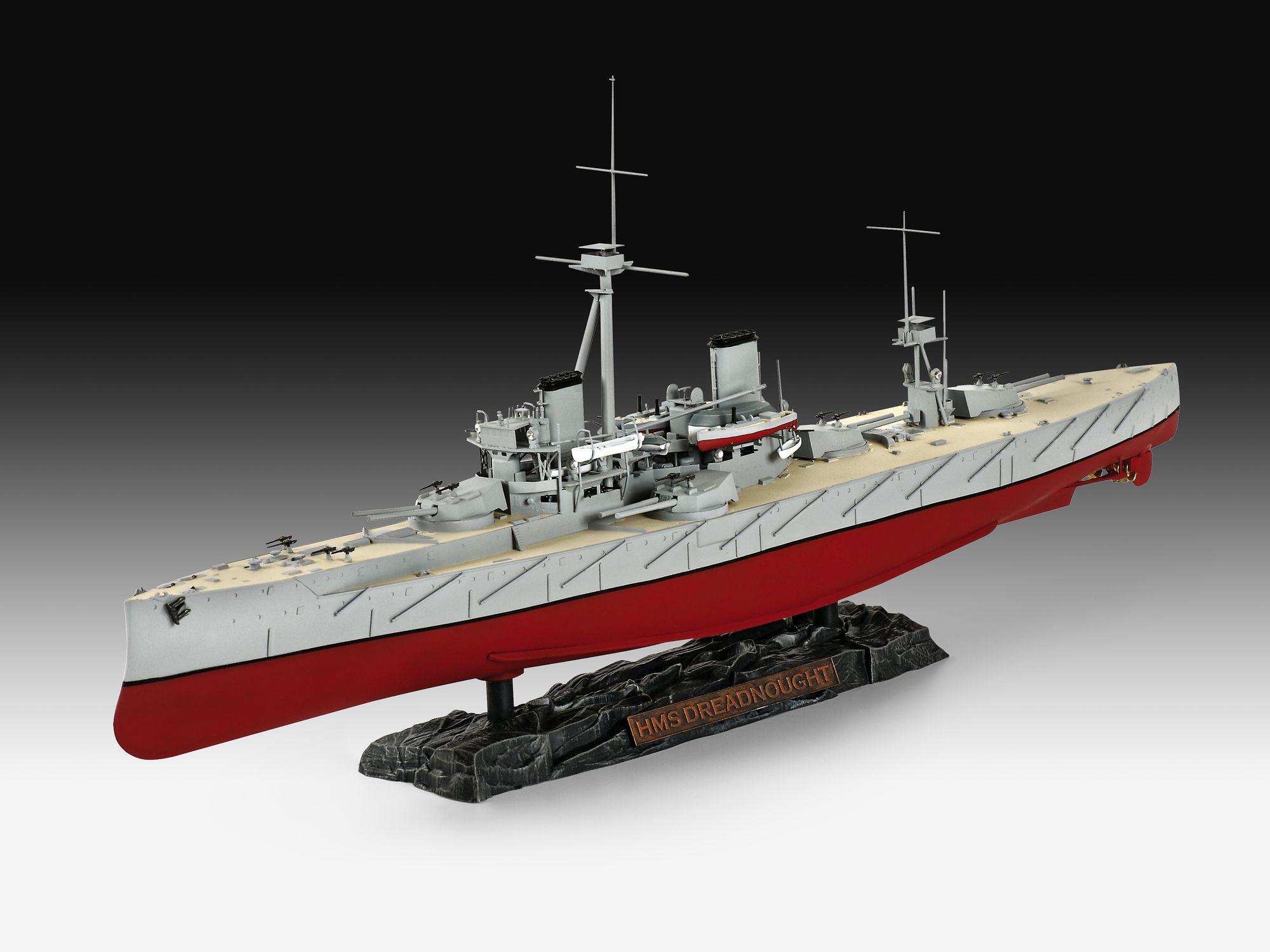 05171-HMS-Dreadnought HMS Dreadnaught in 1:350 von Revell