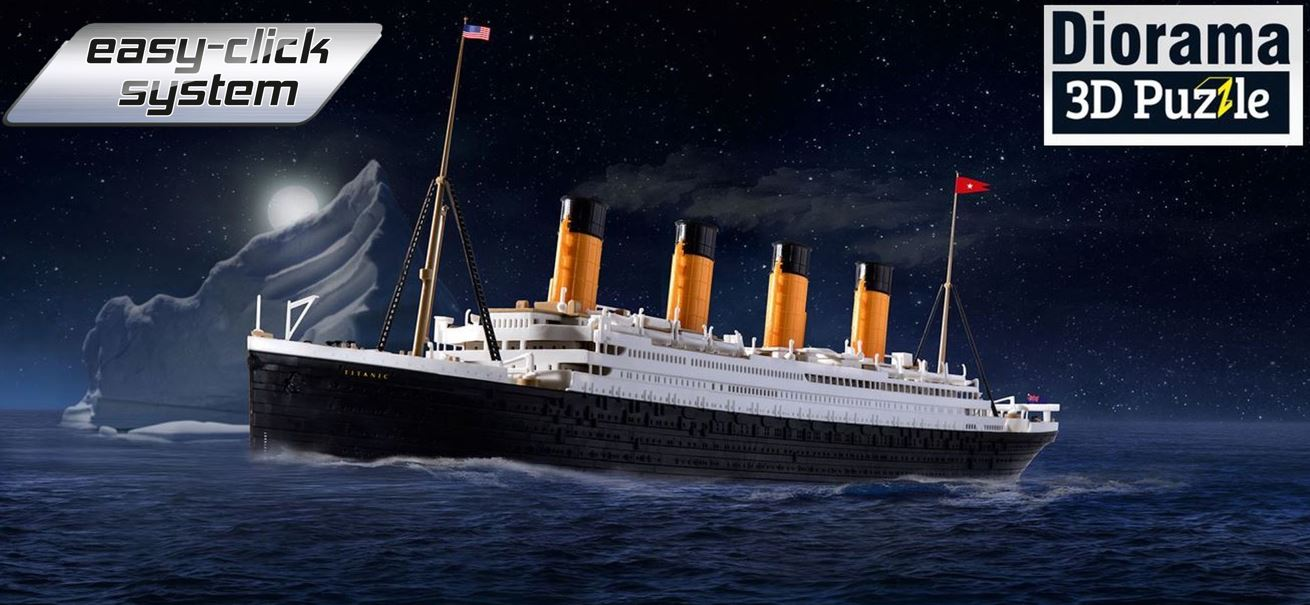 05599_RMS-Titanic-3D-Puzzle-Iceberg_Easy-Click Revell-Neuheiten 2020