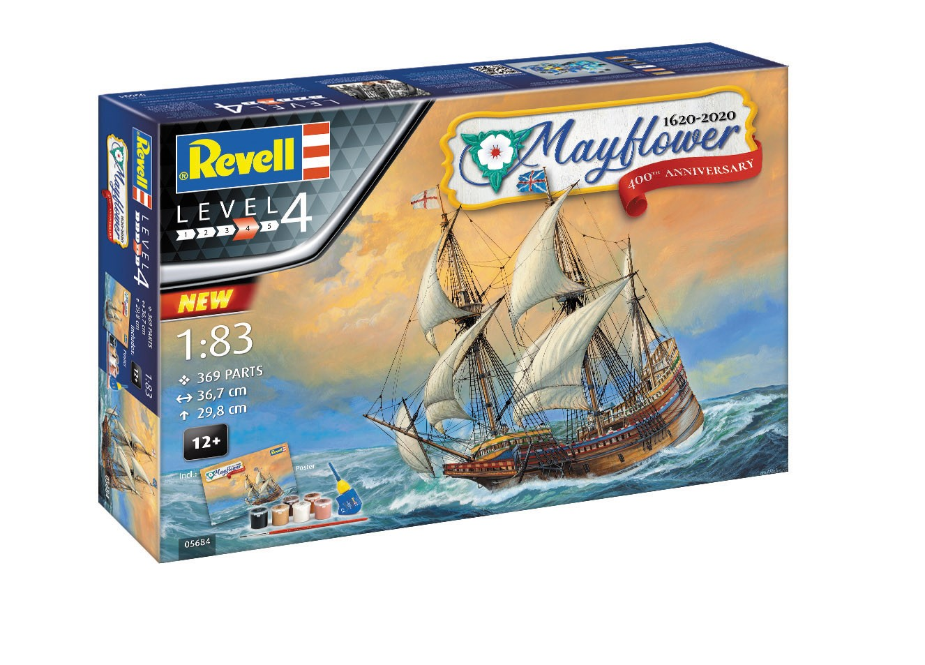 05684_Mayflower_Pack-Shot Revell-Neuheiten 2020