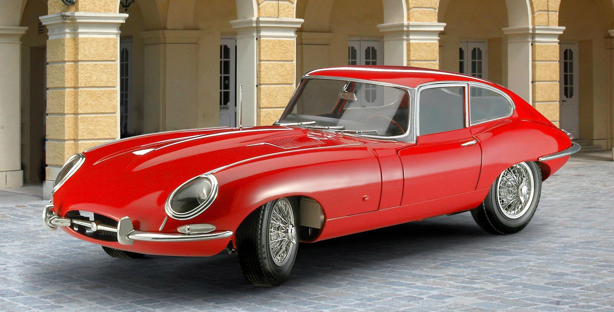 07668-Jaguar-E-Type-Coupe Revell-Neuheiten 2020