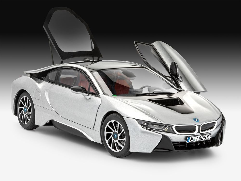 07670-BMW-i8-re Revell BMW i8 in 1:24 #7670