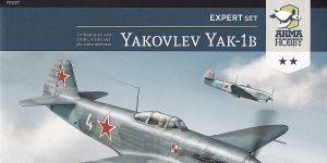 Yakovlev Yak-1B in 1:72 von Arma Hobby Expert Set #70027