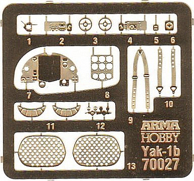 Arma-Hobby-70027-Yak-1B-Expert-Set-11 Yakovlev Yak-1B in 1:72 von Arma Hobby Expert Set #70027