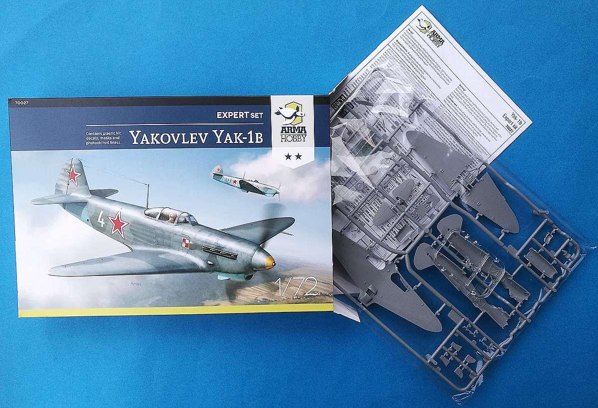 Arma-Hobby-70027-Yak-1B-Expert-Set-13 Yakovlev Yak-1B in 1:72 von Arma Hobby Expert Set #70027