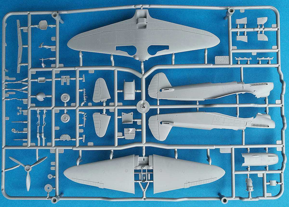 Arma-Hobby-70027-Yak-1B-Expert-Set-26 Yakovlev Yak-1B in 1:72 von Arma Hobby Expert Set #70027