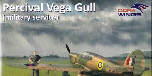 Percival Vega Gull in Military Service in 1:72 von DoraWings #DW 72007