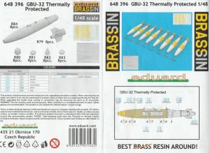 Eduard-648396-GBU-32-Thermally-Protected-11-300x219 Eduard 648396 GBU-32 Thermally Protected (11)