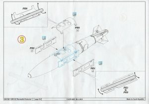 Eduard-648396-GBU-32-Thermally-Protected-13-300x209 Eduard 648396 GBU-32 Thermally Protected (13)