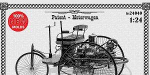 Benz Patent Motorwagen in 1:24 von ICM #24040