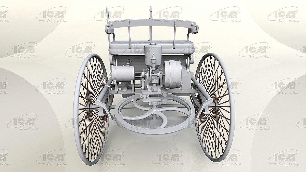 ICM-24040-Benz-Patent-Motorwagen-Preview-4 Benz Patent Motorwagen in 1:24 von ICM #24040