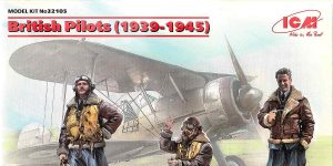 British Pilots (1939-1945) in 1:32 von ICM #32105