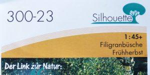 Filigranbüsche Frühherbst für den Maßstab 1:48 von MiniNatur
