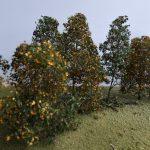 MiniNatur-300-23-Bäume-145-7-150x150 Filigranbüsche Frühherbst für den Maßstab 1:48 von MiniNatur