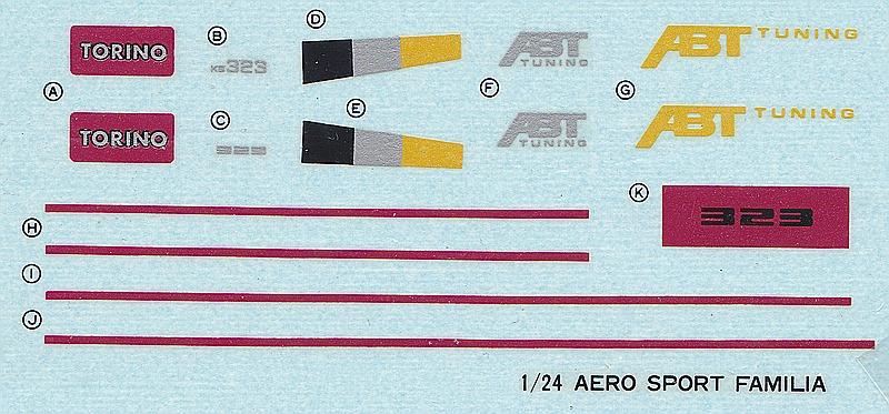 NITTO-Mazda-323-ABT-Tuning-3 Mazda 323 ABT Tuning in 1:24 von NITTO