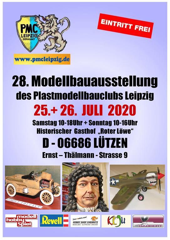 PMC-Leipzig-Ausstellung-2020 Ausstellung des PMC Leipzig am 25./26. Juli 2020