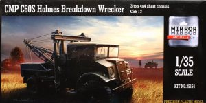 CMP C60S Holmes Breakdown Wrecker — Mirror Models 1/35