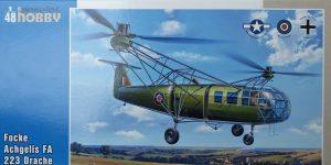 """Focke Achgelis FA 223 Drache (nicht nur) """"Captured"""" von Special Hobby in 1:48"""
