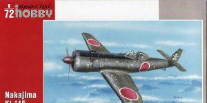 Nakajima Ki-115 Tsurugi Battle of Tokyo in 1:72 von Special Hobby #SH 72199