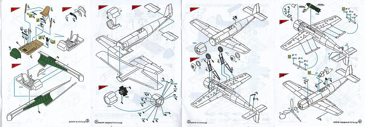 Special-Hobby-SH-72199-Nakajima-Ki-115-Tsurugi-Battle-of-Tokyo-29 Nakajima Ki-115 Tsurugi Battle of Tokyo in 1:72 von Special Hobby #SH 72199