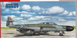 A.W. Gloster Meteor NF Mk. 12 Defending the UK skies von Special Hobby # 72360