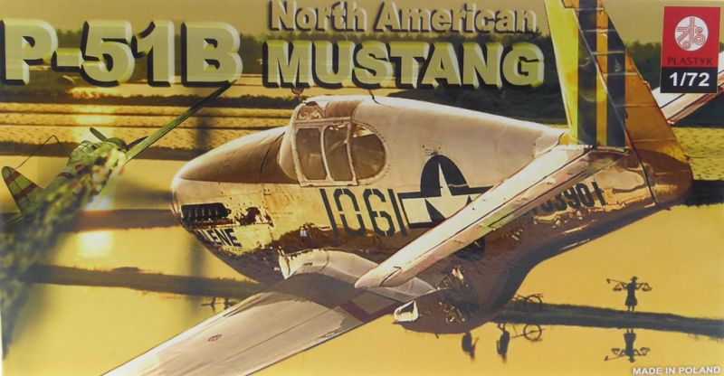 zts-plastyk-s048-1-72-north-american-p-51b-mustang Kit-Archäologie: Mustang P-51A Mk.2 in 1:72 von Frog F.427