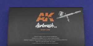 AK Interactive Airbrushpistole Basic Line 0,3mm