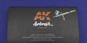 AK Interactive Airbrushpistole Basic Line 0,3mm