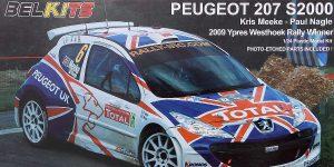 Peugeot 207 S2000 in 1:24 vonBelkits #BEL-001