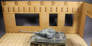 Panzerwerkstatt mit Portalkran – 1/35 – Lasercut-Modellbaushop