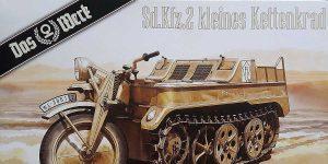 Sd.Kfz. 2 NSU Kettenkrad in 1:35 von Das Werk # DW 35020