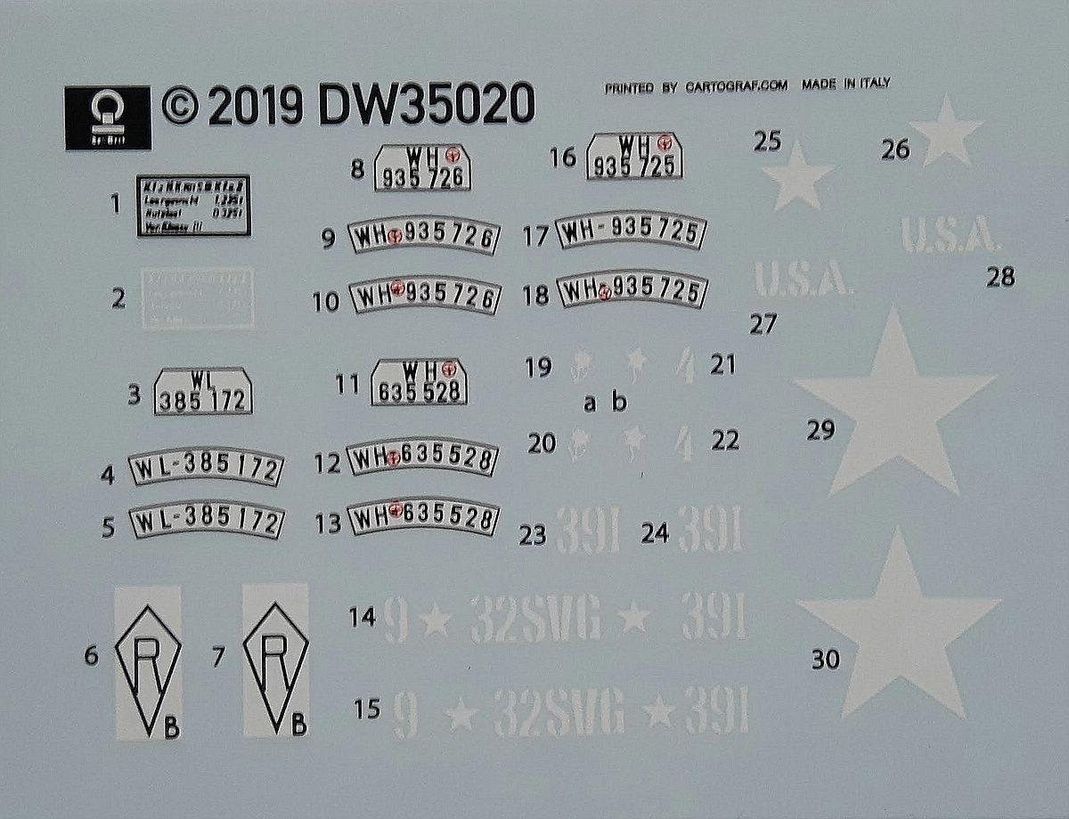 Das-Werk-35020-NSU-Kettenkrad-10 Sd.Kfz. 2 NSU Kettenkrad in 1:35 von Das Werk # DW 35020