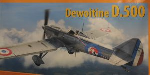 Dewoitine D. 500 in 1:32 von Dora Wings #DW 32001