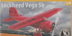 Lockheed Vega 5b in 1:48 von Dora Wings # DW 48022