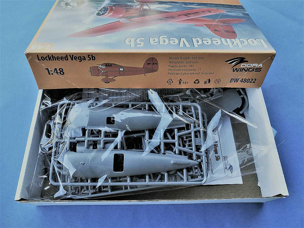 DoraWings-DW-48022-Lockheed-Vega-5b-7 Lockheed Vega 5b in 1:48 von Dora Wings # DW 48022