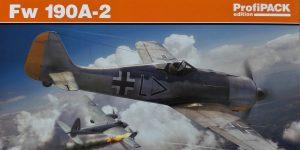Focke Wulf FW 190A-2 in 1:48 von Eduard als ProfiPack #82146