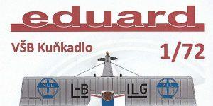 """Leichtflugzeug """"Kuňkadlo"""" in 1:72 von Eduard"""