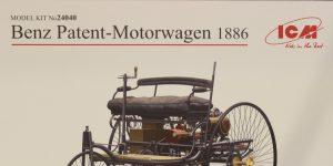 Benz Patent-Motorwagen in 1:24 von ICM #24040