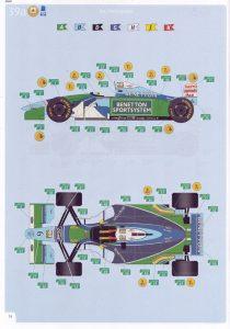 Revell-05689-Benetton-Ford-B194-27-210x300 Revell 05689 Benetton Ford B194 (27)