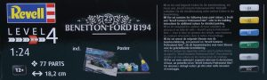 Revell-05689-Benetton-Ford-B194-3-300x90 Revell 05689 Benetton Ford B194 (3)