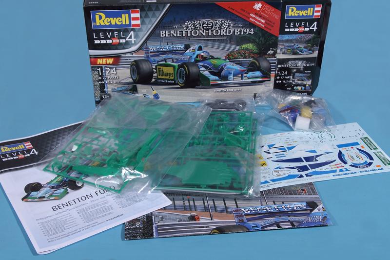 Revell-05689-Benetton-Ford-B194-5 Benetton Ford B 194 in 1:24 von Revell # 05689