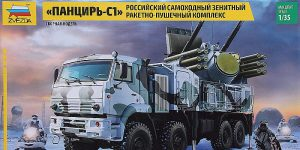 Pantsir S-1 (SA-22 Greyhound) in 1:35 von Zvezda # 3698