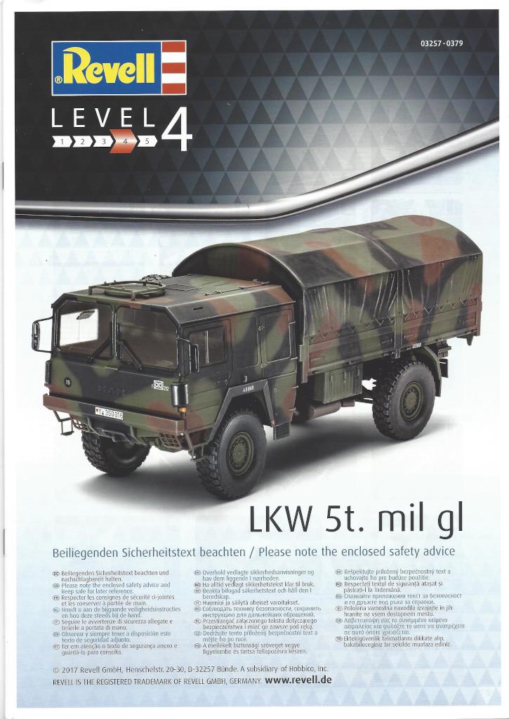 Anleitung01 LKW 5t. mil gl 1:35 Revell (#03257)