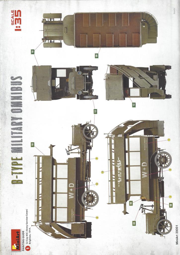 Anleitung02-3 B-Type Military Omnibus 1:35 Miniart (#39001)