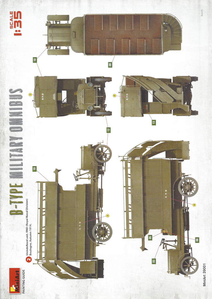 Anleitung03-3 B-Type Military Omnibus 1:35 Miniart (#39001)